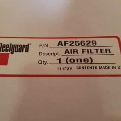 Fleetguard af25629